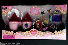 DISNEY Store MINI CASTLE Play Set AURORA In Box NEW