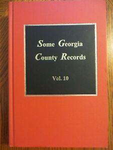 Some Georgia County Records Vol. 10