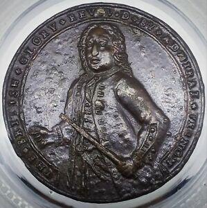 (1739) ADMIRAL VERNON MEDAL PORTO BELLO PANAMA PBv 41-U (R-6) FLEET OF SHIPS