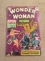 WONDER WOMAN #160 First CHEETAH Wonder Woman 2 Movie Villain [DC, 1966]