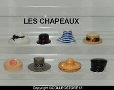 SERIE COMPLETE DE FEVES LES CHAPEAUX