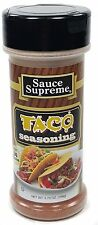 Sauce Supreme® TACO SEASONING new & fresh USA MADE spices cooking