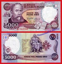COLOMBIA 5000 Pesos de oro 1990 Pick 436  SC / UNC
