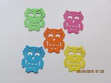 OWL--------#20-------Bright----Punchies------Cricut Die Cuts-----Ships Worldwide