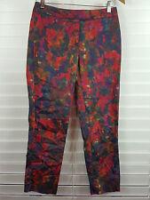 SPORTSCRAFT sz 6 womens Impressionist Print Capri Pants [#1282]