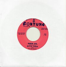 BUTCH VADEN   HAREM GIRL / THE ROLL    FORTUNE Re-Issue/Re-Pro  NORTHERN/R&B/MOD