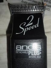 ANDIS PLUS MODEL AG2  ....2-SPEED DETACHABLE DOG CLIPPERS