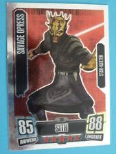 Force Attax Clone Wars Serie 2 (2011), Savage Opress (208), Star-Karten