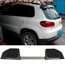Universal Fit IKON Style Unpainted 2PCS SUV Add On Roof Spoiler - ABS