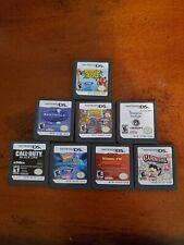 LOT of 8 Nintendo Ds Games