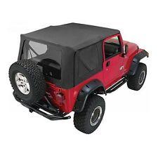 Rampage Complete Soft Top w/ Frame 97-06 Jeep Wrangler TJ 68735 Black Diamond