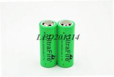 2x UltraFire 26650 3.7V 8000mAh Rechargeable Li-ion Battery For Led Flashlight