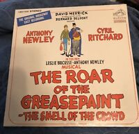 ANTHONY NEWLEY CYRIL RITCHARD BROADAWAY ALBUM LP 1965 RCA SEALED GREASEPAINT SEE