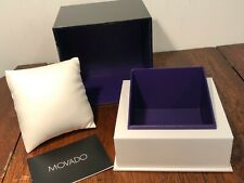 NEW MOVADO BOLD Presentation Display Gift Watch Box