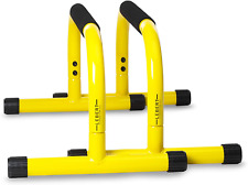 Lebert Fitness Parallette Push Up Bars Dip Station Stand - Perfect for Home and