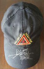 Star Trek signed JG Herztler House of Martok hat
