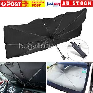 Car Windshield Sunshade Umbrella Foldable Front Window Sun Visors Cover- Upgrade
