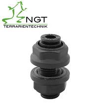 Schottenschluss 6mm Einbautiefe 4mm Schlauch Terrarien Beregnung NGT