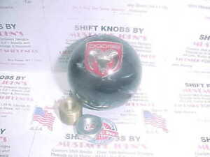 Dodge Ram logo, Custom Shift Knob (Black  Pearl)