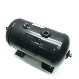 Manchester Tank 304983 Horizontal 3 Gal Air Tank, Pressure: 200 PSI, Epoxy Lined