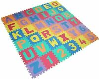42Pcs Kids Play Mat Foam Eva Soft Learning Letters and Numbers Puzzle Colorful