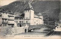 CPA 16 - MOUTHIERS - Le Vieux Pont et L' Êvêché