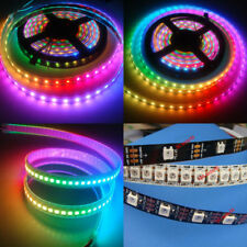 WS2812B 5050 RGB LED Strip 5M 150 300 Leds 144 60LED/M Individual Addressable 5V