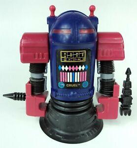 Vintage 80s Ideal Robo Force Action Figure Robot - Cruel w/ Accessories