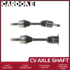 Cardone CV Axle Shaft Front Left+Right X2 Fits 2001-2005 MITSUBISHI MONTERO UU26