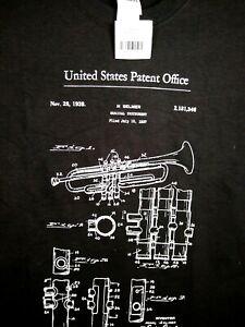 Selmer Trumpet Patent Black Small Unisex T Shirt  New Valentine gift
