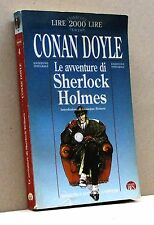 LE AVVENTURE DI SHERLOCK HOLMES - C. Doyle [libro, Biblioteca economica Newton]
