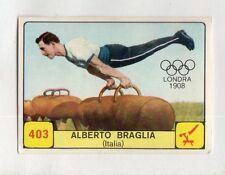 figurina CAMPIONI DELLO SPORT 1968-69 -REC- N. 403 LONDRA 1908 BRAGLIA