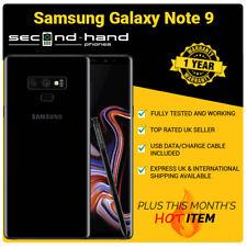 Samsung Note 9 - 128GB - Midnight Black - Unlocked - Average Grade C - Warranty