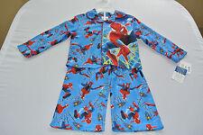 NWT Spiderman Boys Pajamas Two Piece Set Size 3T