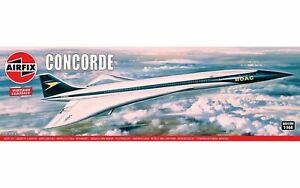 Airfix Concorde Vintage Classics Aircraft Model Kit 1:114 - A05170V