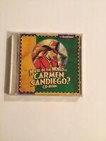 Where In The World Is Carmen Sandiego Pc Cd Rom Broderbund