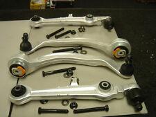 AUDI A4 B6 8E 2001-2004 Anteriore ABBASSARE Forcella TRACK CONTROL ARM Kit x 4