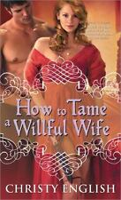 How to Tame a Willful Wife-ExLibrary