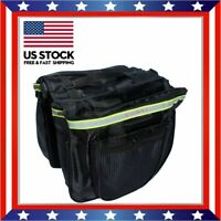 20L Bike Cycling Saddle Bag Bicycle Under Seat Storage Outdoor Rear Tail Pouch