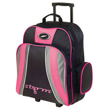 Storm Rascal 1 Ball Roller Bowling Bag Black Pink 5 Year Warranty!