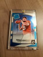 2017 Panini Donruss Optic Patrick Mahomes Rated Rookie Card #177