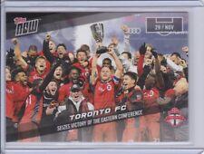2017 Topps NOW MLS 98 Toronto FC Print Run 90