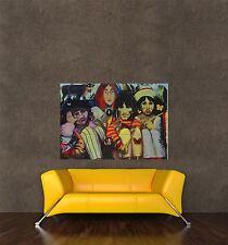Poster Imprimé couverture album de musique Beatles ballades caricature peinture seb1014