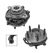2 New Front Wheel Hub Bearing Assembly Set for Ford Ranger B-Series 4x4 with ABS