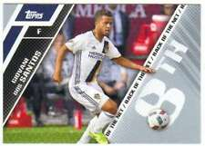 2017 Topps MLS Soccer Back of the Net #BOTN-8 Giovani dos Santos LA Galaxy
