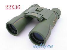 Zoomable 22x36S Military/Army Style Binocular Telescopes Sports Travel Hunting