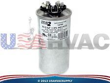 Motor Dual Run Capacitor Round 50 + 5 uf MFD 440 Volt Mars Mars2 12790 12290
