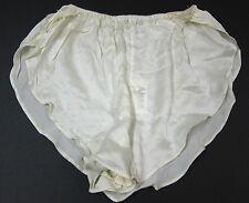 NEW Alexas VINTAGE 90s 100% Silk Flutter Shorts Sleepwear Lingerie SZ LARGE