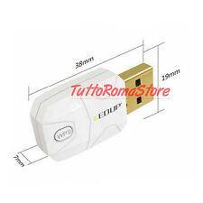 ✔ ANTENNA EDUP WIFI N 300 Mbps NANO MINI USB WIRELESS CHIAVETTA WI-FI ADATTATORE