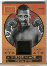 Michael Spinks Boxing Jersey Card Panini Golden Age #7 Panini 2014 022820DBCD